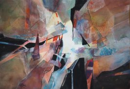 Solveig_Dons_Landsnes_Abstracted_51x72_akvarell